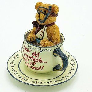 Scuba Teabearie Boyd's Bears in Teacup 2003 #24321